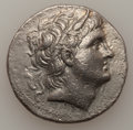 Ancients:Greek, Ancients: MACEDONIAN KINGDOM. Demetrius Poliorcetes (306-283 BC).AR tetradrachm (16.92 gm). ...