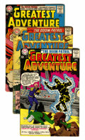Silver Age (1956-1969):Adventure, My Greatest Adventure Group (DC, 1959-63) Condition: Average GD/VG.... (Total: 12 Comic Books)