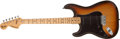 Musical Instruments:Electric Guitars, 1978 Fender Stratocaster Left Handed Sunburst Electric Guitar, # S869796....