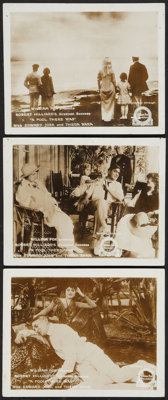"""A Fool There Was (Fox, 1915). Lobby Cards (3) (8"""" X 10""""). Drama. ... (Total: 3 Items)"""