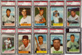 Baseball Cards:Sets, 1954 Bowman Baseball Mid To High Grade Complete Set (224) With Williams. ...