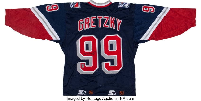 separation shoes 95db2 a5a95 Wayne Gretzky Signed Jersey.... Hockey Collectibles Uniforms ...