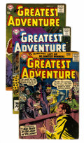 Silver Age (1956-1969):Adventure, My Greatest Adventure Group (DC, 1957-63) Condition: Average VG.... (Total: 14 Comic Books)