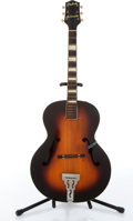 Musical Instruments:Acoustic Guitars, 1946 Gretsch Synchromatic 100 Sunburst Archtop Acoustic Guitar Serial# N/A....