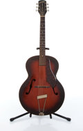 Musical Instruments:Electric Guitars, 1949 Gretsch New Yorker 6050 Sunburst Archtop Acoustic Guitar #N/A....