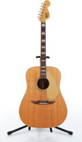 Musical Instruments:Acoustic Guitars, 1957 Fender Kingman Natural Acoustic Guitar Serial# 17792....