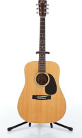 Musical Instruments:Acoustic Guitars, 1975 Fender F-65 Natural Acoustic Guitar Serial# N/A....