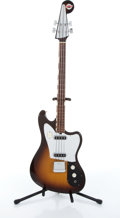 Musical Instruments:Electric Guitars, 1960s Teisco Del Ray EB-200 Sunburst Electric Bass Guitar Serial#N/A....