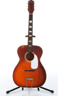 Musical Instruments:Acoustic Guitars, 1960s Silvertone 615 Red Sunburst Acoustic Guitar Serial# N/A....
