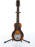 Musical Instruments:Lap Steel Guitars, 1930s Oahu Diana Hawaiian Lap Steel Guitar Serial# X22404....