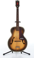 Musical Instruments:Acoustic Guitars, 1960 Harmony H623 Sunburst Archtop Acoustic Guitar Serial# 4393....