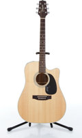 Musical Instruments:Acoustic Guitars, 1993 Takamine EF360C Natural Electric Acoustic Guitar Serial# 93101285....