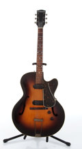 Musical Instruments:Electric Guitars, 1950s S.S. Stewart Possible 9015 Model Sunburst Archtop ElectricGuitar # N/A....