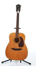 Musical Instruments:Acoustic Guitars, 1958-1971 Harmony Sovereign H1260 Natural Acoustic Guitar # N/A....