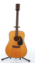 Musical Instruments:Acoustic Guitars, Gibson J-40 Natural Acoustic Guitar # N/A....