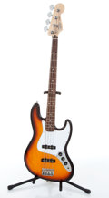 Musical Instruments:Bass Guitars, 1997 Fender Jazz Sunburst Electric Bass Guitar # MN7143915....