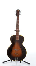 Musical Instruments:Acoustic Guitars, Vintage Dobro Sunburst Archtop Acoustic Guitar # N/A....