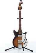 Musical Instruments:Electric Guitars, 1960s Teisco Del Rey ET-200 Sunburst Electric Guitar # 169380....