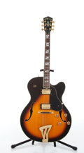 Musical Instruments:Electric Guitars, 1990s Washburn Montgomery J-6 Sunburst Archtop Electric Guitar #GM211206....