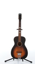 Musical Instruments:Acoustic Guitars, Vintage Stella By Harmony H929 Vertical Faux Flame Acoustic Guitar #281H929....