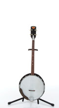 Musical Instruments:Banjos, Mandolins, & Ukes, 1983 Crown Tenor Sunburst Banjo #N/A....