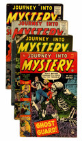 Golden Age (1938-1955):Horror, Journey Into Mystery Group (Marvel, 1953-61).... (Total: 4 ComicBooks)
