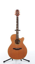 Musical Instruments:Acoustic Guitars, 1994 Takamine Santa Fe PSF-94 Electric Acoustic Guitar #94010517....