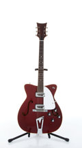 Musical Instruments:Electric Guitars, 1965 Martin GT-75 Burgundy Electric Guitar # 211789....