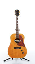 Musical Instruments:Acoustic Guitars, 1969 Gibson Hummingbird Natural Acoustic Guitar #806242....