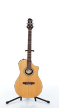 Musical Instruments:Electric Guitars, 2004 Line 6 Variax 700 Natural Electric Acoustic Guitar #04090700....