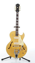 Musical Instruments:Electric Guitars, 1997 Epiphone ES-295 Gold Top Electric Guitar # R9710794....