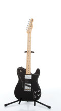 Musical Instruments:Electric Guitars, 1992 Fender Telecaster Custom Black Electric Guitar # MN2063577....