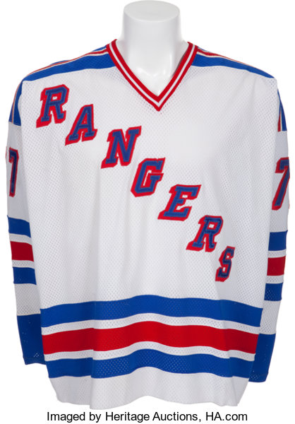 f4de3a223 1979-80 Phil Esposito Game Worn New York Rangers Jersey.... Hockey ...