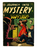 Golden Age (1938-1955):Horror, Journey Into Mystery #2 (Marvel, 1952) Condition: GD/VG....