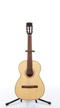 Musical Instruments:Acoustic Guitars, Unknown Year Victoria VHM-10 Natural Classic Acoustic Guitar #416....