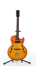Musical Instruments:Electric Guitars, Mid 1960s Gibson ES-125TC Sunburst Archtop Electric Guitar #94781....