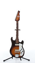 Musical Instruments:Electric Guitars, 1960s Teisco Del Ray MJ-2 Sunburst Electric Guitar # N/A. ...