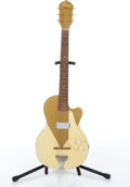 Musical Instruments:Electric Guitars, 1950s Kay Unknown Model Gold Electric Guitar # N/A....