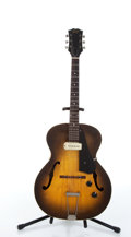 Musical Instruments:Electric Guitars, 1958 Guild CE100 Sunburst Semi Hollow Archtop Electric Guitar#7860....