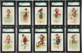 "Non-Sport Cards:Sets, 1889 N192 Kimball ""Beautiful Bathers"" Complete Set (20) - #1 on theSGC Set Registry! ..."