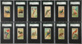 "Non-Sport Cards:Sets, 1889 N5 Allen & Ginter ""Birds of the Tropics"" Complete Set (50)- #1 on the SGC Set Registry!..."