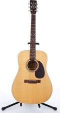 Musical Instruments:Acoustic Guitars, 1992 Alvarez 5043 Natural Acoustic Guitar # 411020....