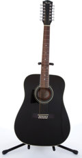 Musical Instruments:Acoustic Guitars, 1997 Fender DG-16 Black 12-String Acoustic Guitar # 99072826....
