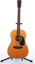 Musical Instruments:Acoustic Guitars, 1981 Fender F-15 Natural Acoustic Guitar #8102096....