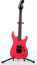 Musical Instruments:Electric Guitars, 1988 Strat By Fender Pink Electric Guitar # E841642....