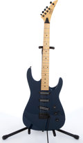 Musical Instruments:Electric Guitars, 1990s Stinger By Martin SSX Blue Electric Guitar # 8110326....