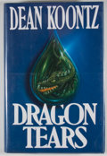 Books:Signed Editions, Dean Koontz. Signed. Dragon Tears. ...