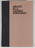 Books:Signed Editions, Ray Bradbury. Signed. Death Is a Lonely Business....
