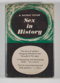 Books:First Editions, G. Rattray Taylor. Sex in History....