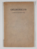 Books:First Editions, Henry Collins Brown. Delmonico's. A Story of Old NewYork....